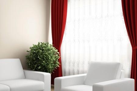 Groupon Shopping (Cortina): $11.990 en vez de $25.500 por cortina de 2 paños + velo marca Kolores con despacho. Elige color