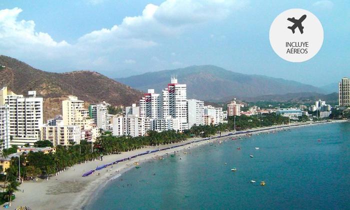 Los Nomadas: Santa Marta: desde $533.999 por 2, 3 o 4 noches por persona en base doble en Sanha Plus Hotel + desayuno + aéreo