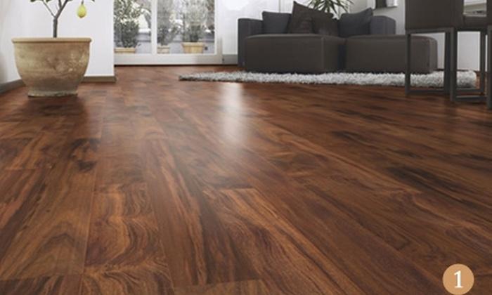 FloorCenter: $32.900 en vez de $65.500 por una caja de piso de madera natural austriaco en Floorcenter con despacho. Elige color