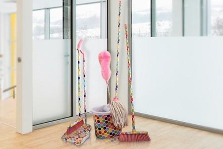 Dulce Hogar: Paga $13.490 por set de limpieza con diseño a elección. Incluye despacho