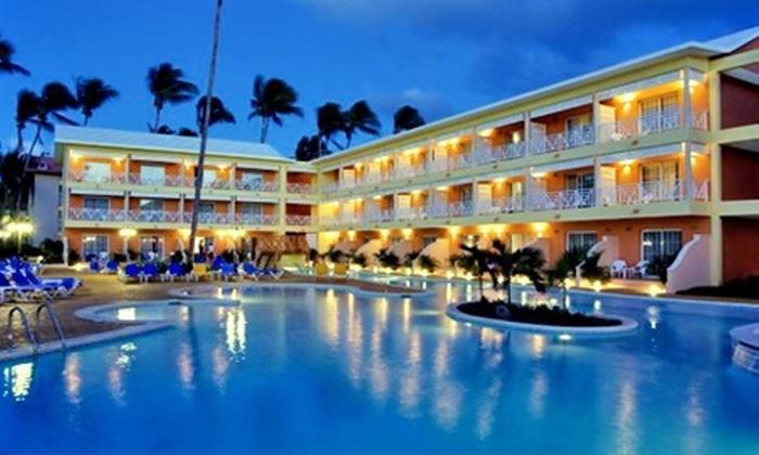 : Punta Cana: $17,999 por persona en base a ocupación doble por 4 noches con all inclusive + boleto de avión + impuestos con Operadora Punta del Este