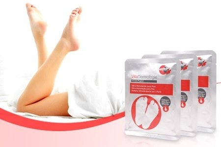VitaDermologie: $11.490 en vez de $25.170 por pack de tratamiento ultrahidratante para pies marca Vitadermologie en Grama. Incluye despacho