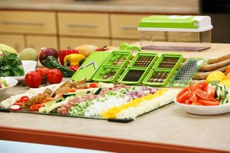 Shopping (Picador): $12.990 por picador de verduras y frutas marca Genius Nicer Dicer Plus. Incluye despacho