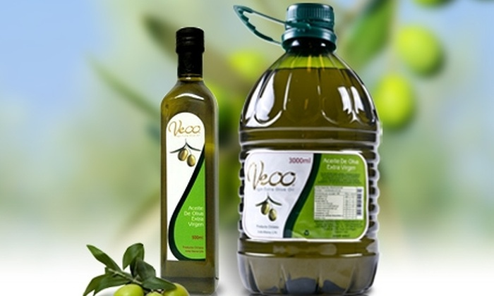 Veoo: $17.455 en vez de $34.910 por 5,5 litros de aceite de oliva de exportación Veoo extra virgen con despacho