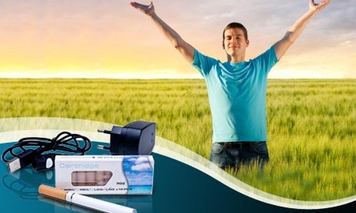 Groupon Shopping (Cigarro electrónico): Paga $10.990 por cigarro electrónico E-Cigarette con despacho