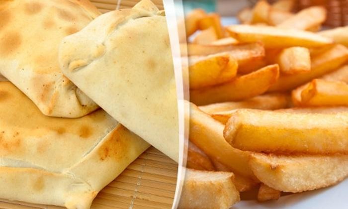 La Caleta de Empanadas - La Caleta de Empanadas: $8.700 en vez de $17.500 por 10 empanadas + papas fritas familiar en La Caleta de Empanadas