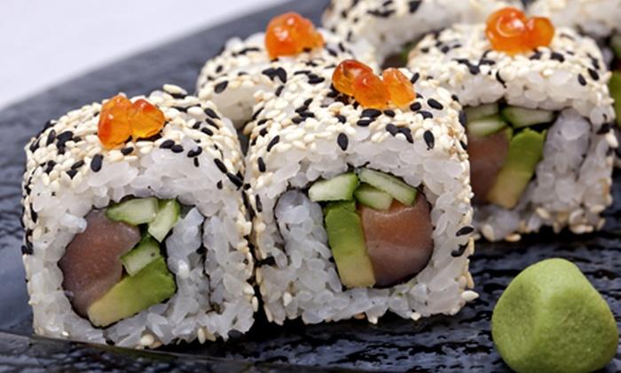 Bar 184: Desde $7.500 por 32 piezas de sushi + 8 gyozas o 64 piezas de sushi en Bar 184