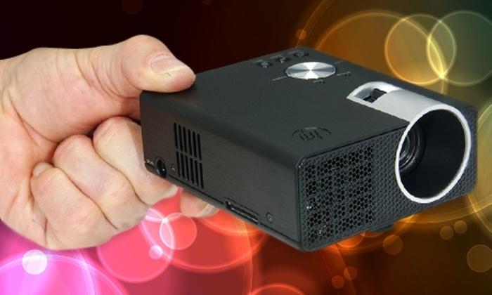 Groupon Shopping (Mini Proyector de Bolsillo HP): Paga $167.990 por mini proyector de bolsillo HP. Incluye despacho