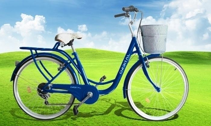 """Orbital - Orbital: $69.500 en vez de $139.000 por bicicleta urbana para mujer Orbital City Rider aro 26"""" de Orbital S.A. Elige color"""