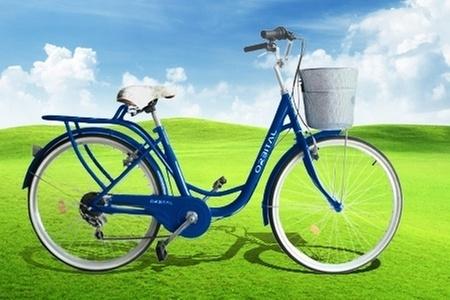 """Orbital: $69.500 en vez de $139.000 por bicicleta urbana para mujer Orbital City Rider aro 26"""" de Orbital S.A. Elige color"""