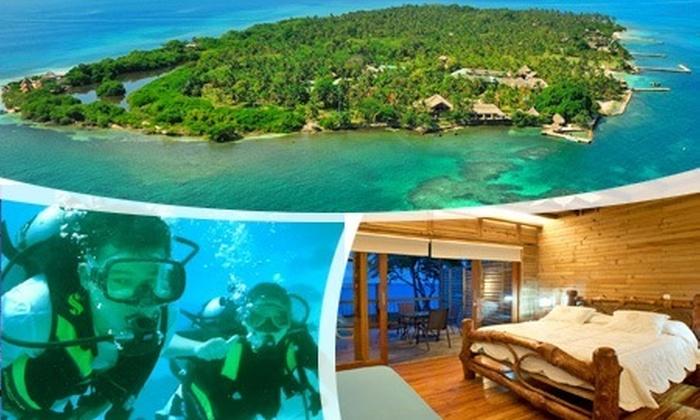 : $1.125.000 en vez de $2.250.000 por 3 días y 2 noches para dos en Isla Múcura con alimentación completa + careteo en Hotel Punta Faro