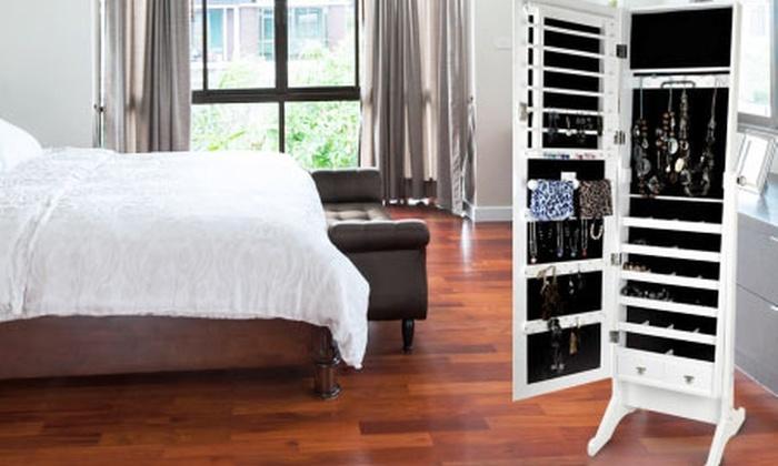 Groupon Shopping (Espejo joyero): $59.990 por espejo joyero con despacho. Elige color