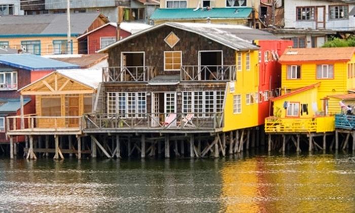 Groupon Travel (Ancud): Ancud, Chiloé: 2 o 3 noches en Hotel Don Lucas para dos + aéreos + traslados desde $159.000 por persona