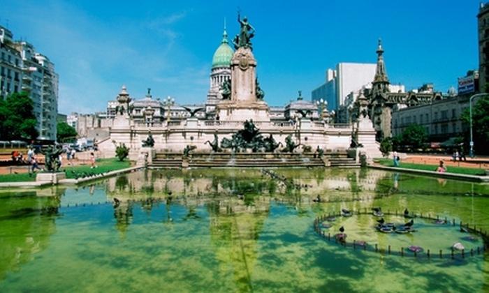 Groupon Travel (Buenos Aires): Buenos Aires para dos: paga desde $189.000 por persona para 2, 3 o 4 noches en hotel a elegir + desayuno + aéreos + tours + cortesías