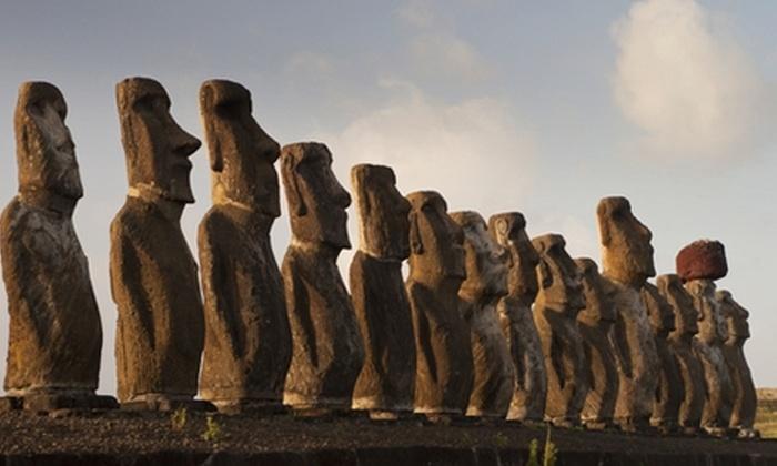 Groupon Travel (Rapa Nui): Disfruta fiesta Tapati en Rapa Nui: Paga desde $599.000 por persona por 4 noches para uno, dos o tres + desayuno + traslados + aéreos