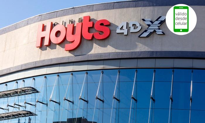 Cine Hoyts - Cine Hoyts: Desde $4.490 por1 o 2 entradas 2D o 3D + popcorn + bebida individual en Cine Hoyts. Elige 23 sucursales