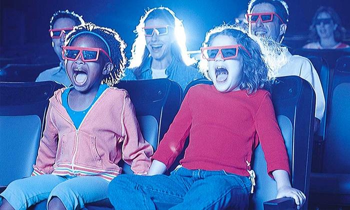 Cinema Park: 1, 2 o 4 entradas a función multisensorial en Cinema Park. Elige día
