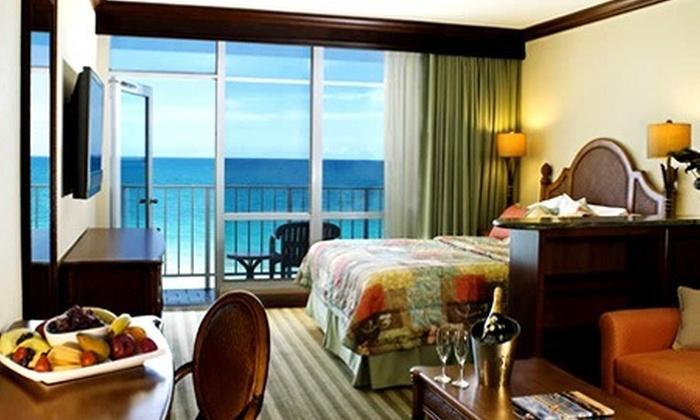 Bembos: S/.1,894 en vez de S/.7,284.60 por 8 noches para cuatro en Miami Beach + Orlando + crucero a Bahamas + alquiler de auto con  Newport Beachside Hotel & Resort