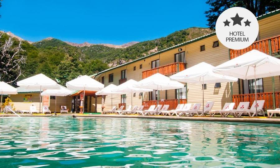 Hotel Nevados De Chillan: Desde $109.000 por 2, 3 o 4 noches para dos + acceso a piscinas termales + desayuno o media pensión en Hotel Nevados de Chillán