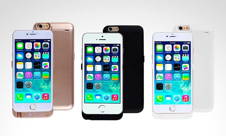 Otto Ware: Case cargador de 10000 Mah para iPhone 5, 5S, 6 o 6Sen color a elección con Otto Ware