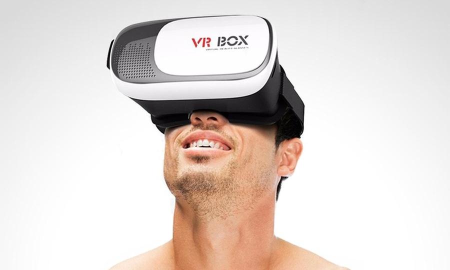 Shopping México: Lentes de realidad virtual 2.0 VR Box + control remoto negro. Incluye envío
