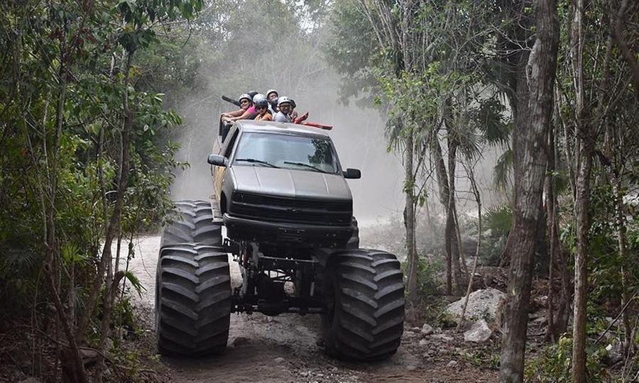 Mois Travel Tours, Cancún: Acceso full pass al parque temático de coches todo terreno Piston Pueblo + transporte para uno o dos conMois Travel Tours, Cancún