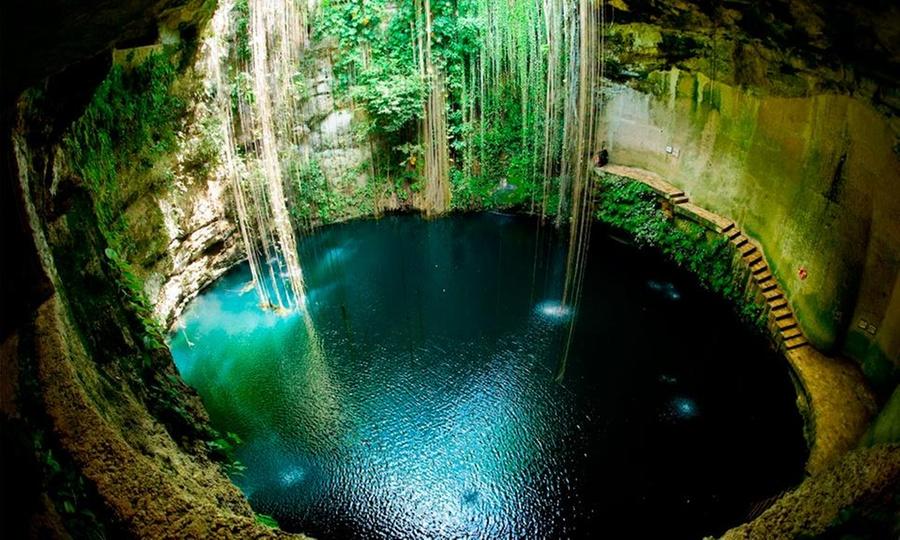 Mois Travel Tours: Tour 4 en 1 para uno o dos a Tulum, Cobá, Cenote y Playa del Carmen + comida buffet conMois Travel Tours