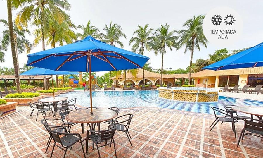 Hotel Campestre el Campanario (RNT: 10924 ): Villavicencio: desde $149.900 por 1 o 2 noches para 1, 2, 3 o 4 personas + desayuno + sauna en Hotel Campestre el Campanario