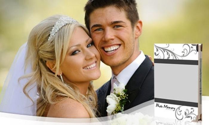 Photo Memory: $120.000 en vez de $350.000 por producción fotográfica digital para matrimonios + 400 fotografías en DVD + galería virtual con Photo Memory