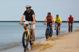 Fat Tire Bike Eco-Tour of First Landing State Park at Chesapean Outdoors, plus 6.0% Cash Back from Ebates.
