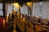 Cena romantica a lume di candela e vino in Toscana