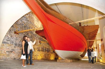 Biglietto d'ingresso al Museo del mare di Galata