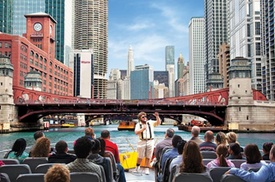 Entertainment Cruises: Lake Michigan and Chicago River Architecture Cruise by Speedboat