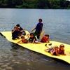 Aqua Lily Pad Rental on Lake Travis in Austin