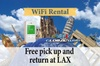 4G LTE Pocket WiFi Rental, Internet Connection in UK - pick up at LAX
