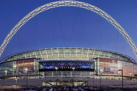 Wembley Stadium Luton Airport Private Transfer for 1-3 Travelers (London)