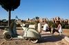Tour Vintage in Vespa con Pic-nic Gourmet a Villa Borghese