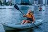 Saturday Night Brisbane Kayak Tour with Optional BBQ Dinner