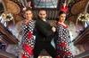 Espectáculo de flamenco en el Palau de la Música Catalana
