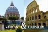 Roma tutto in uno: tour privato ai Musei Vaticani e al Colosseo, tr...