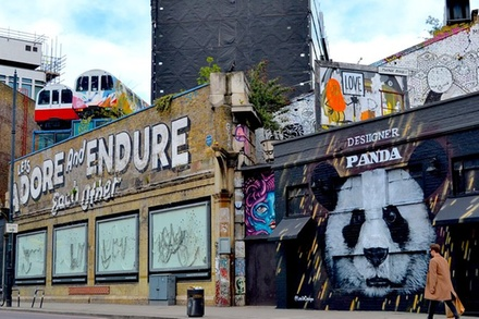 Private Tour: Alternative and Eclectic East London Walking Tour wit...