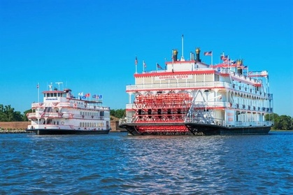2-Hour Savannah Riverboat Dinner Cruise with Onboard Entertainment