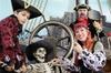 Sesión de fotos con temática pirata en Fuerteventura