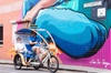 Adelaide 90-Minute Pedicab Tour: Street Art Experience