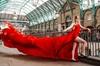 London Flying Dress Photoshoot