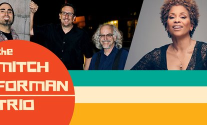image for Jazz Under the Stars Featuring The Mitch Forman Trio and Niki Haris - Monday, Apr. 30, 2018 / 7:00pm