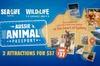 Sydney Attractions Pass: SEA LIFE Aquarium, Sydney Tower Eye, WILD ...