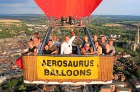 Bailey Balloons: Hot Air Balloon Champagne Flight from Salisbury