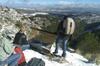 Excursión privada de un día de senderismo en las montañas en la Sie...