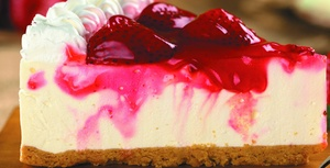 $10 For $20 Worth Of Cheesecakes & Desserts at Grand Rapids Cheesecake Company, plus 6.0% Cash Back from Ebates.